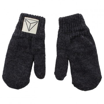 Nordic Label | Knit Mittens, dark grey melange
