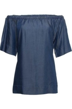 Freequent | Allie Blouse, Medium Blue