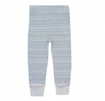 Memini Woolcell Leggings, pale blue
