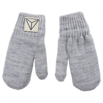 Nordic Label | Knit Mittens, grey melange