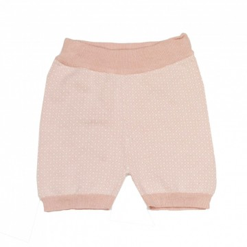 Memini | Eli Baby Knit Shorts Dusty Peach