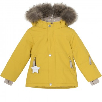 Mini A Ture | Wessel Fur, Bamboo Yellow