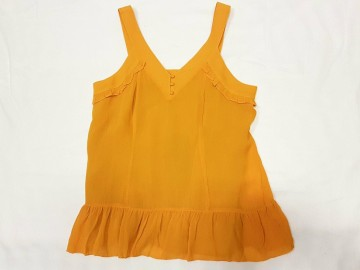Freequent | Donna Top, Golden Yellow
